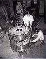 MAGNETO HYDRODYNAMICS MHD NEON COIL STACK AND BUILDING OF HIGH PRESSURE COMPRESSOR - NARA - 17424271.jpg