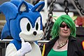 MCM London May 15 - Sonic & Scourge (18245596341).jpg