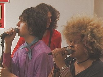 The Moldy Peaches - Adam Green and Kimya Dawson in 2001