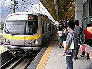 MRT-2 Train Santolan 1