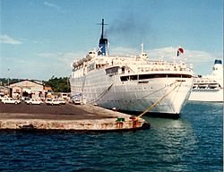 Als The Victoria in Fort-de-France, November 1986