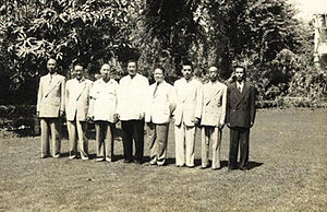 Sino-Arab relations - Ma Bufang and Family in Egypt in 1954.