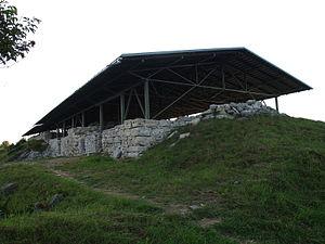 Maasilinna Castle - Maasilinn Castle ruins in 2012.