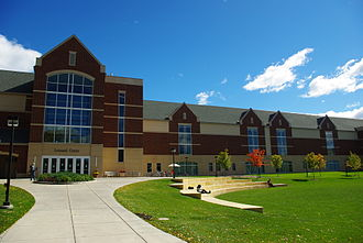 Macalester College - The Leonard Center athletic and wellness complex