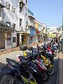 Macau 告利雅施利華街 Rua Correia da Silva Oct-2015 DSC motorbike parking.JPG