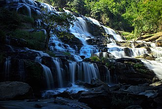 Doi Inthanon - Image: Mae Ya Waterfall in Doi Inthanon National Park, Chiang Mai, Thailand