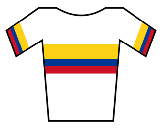 Colombia (cycling team) - Image: Maillot Colombia