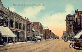 Main Street, Looking South, Joplin, MO