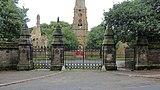 Main western gates, Flaybrick Memorial Gardens.jpg