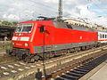 Mainzer Hauptbahnhof- auf Bahnsteig zu Gleis 4- Richtung Worms (Hochsteg) (IC 120 143-3) 11.6.2009.JPG