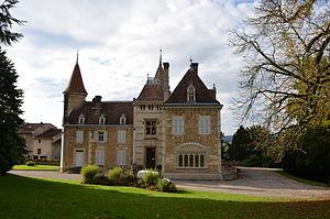 Ambronay - The Town Hall of Ambronay
