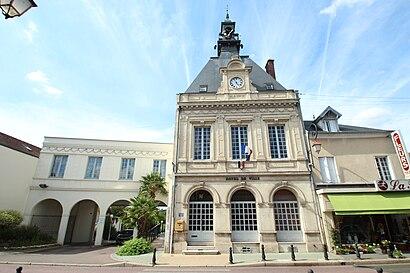 Como chegar até Bonnières-sur-Seine com o transporte público - Sobre o local
