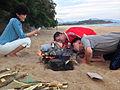 Majon Beach Guest House, DPRK (15064724032).jpg
