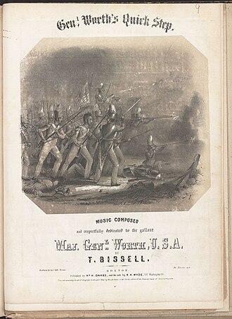 William H. Oakes - Image: Major General Worth (Boston Public Library)