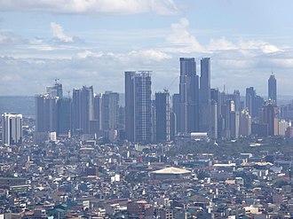 Makati - Makati Poblacion Skyline.