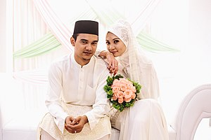 Malays (ethnic group) - Image: Malay couple