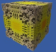 Mandelbox (Frontalaufnahme) (ganzes Fraktal).jpg