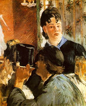 Manet, Edouard - La Serveuse de Bocks (The Wai...
