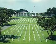 Der amerikanische Soldatenfriedhof in Fort Bonifacio