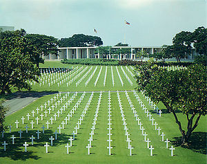 Image result for american cemetery philippines