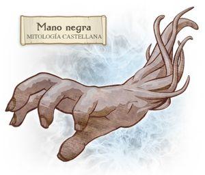 Español: La Mano Negra era un ente malefico de...