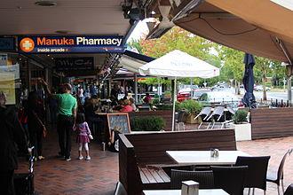 Manuka, Australian Capital Territory - Franklin Street in Manuka