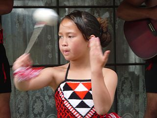 Kapa haka Māori performing art