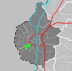 Biesland (Maastricht) - Image: Map NL Maastricht Biesland
