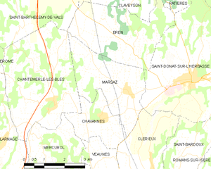 Map commune FR insee code 26177.png