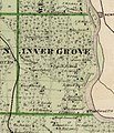 Map of Inver Grove from the 1874 Minnesota State Atlas (cropped).jpg
