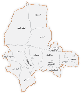 Map of Marrakech Province AR.png