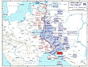 Map of dnieper battle grand
