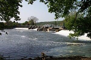 Mapledurham Lock - Image: Mapledurham Weir