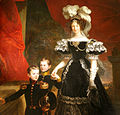Maria Teresa of Tuscany, queen of Sardinia, with her sons.jpg