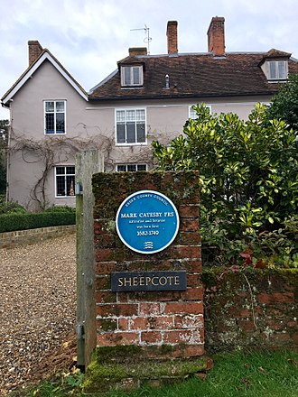 Mark Catesby - Mark Catesby's birthplace in Castle Hedingham, Essex