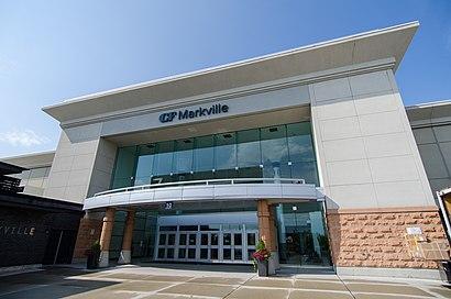 Como chegar até Cf Markville com o transporte público - Sobre o local