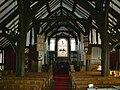 Marton church, interior looking east.JPG