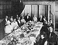 Mary Miles Minter and Harry W. Willard entertain press representatives and friends at the new Drake Hotel, Chicago. May 28, 1921.jpg
