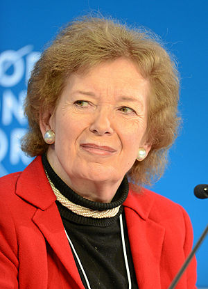 Ireland's Greatest - 3. Mary Robinson was the first female President of Ireland and also United Nations High Commissioner for Human Rights and Global Elder.