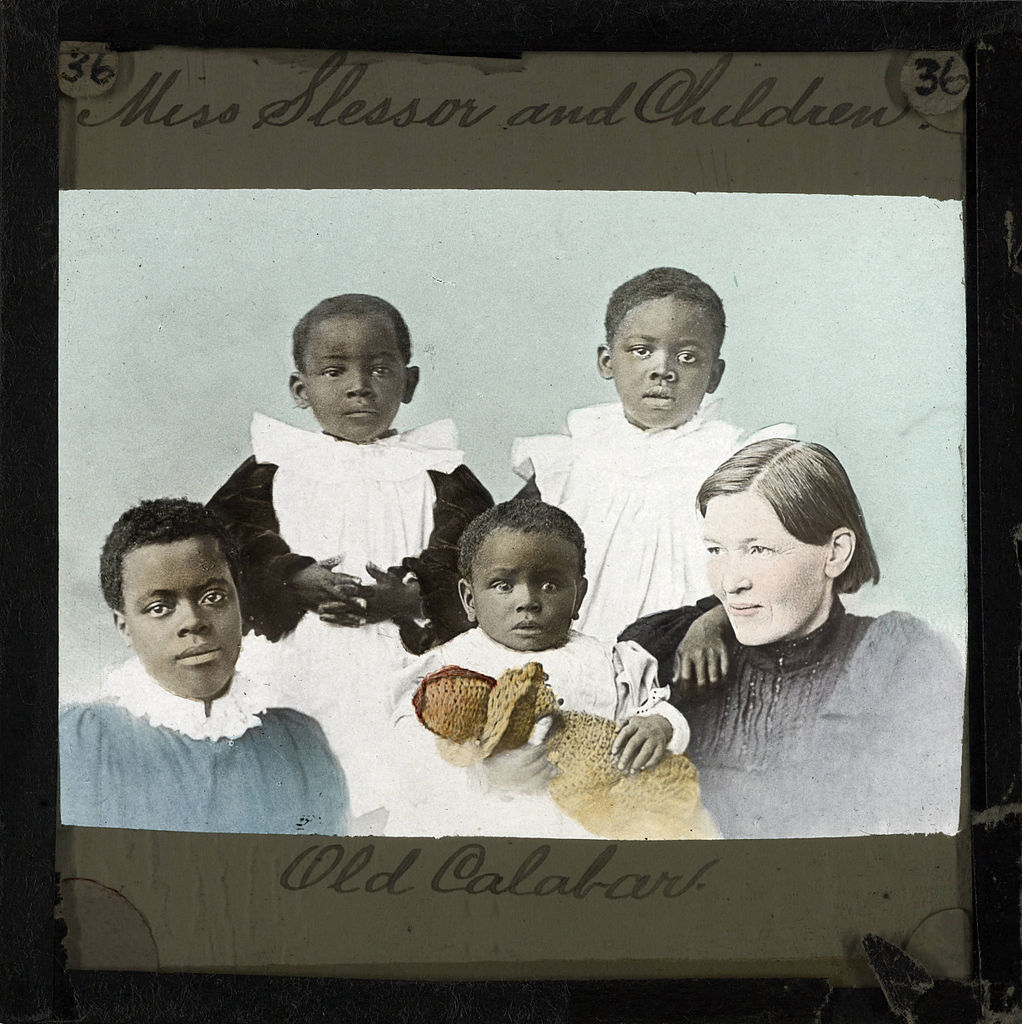 File Mary Slessor And Four Children Old Calabar Late
