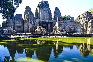 Masrur Temples 8th-century rock cut stone temple and ruins in Himachal Pradesh