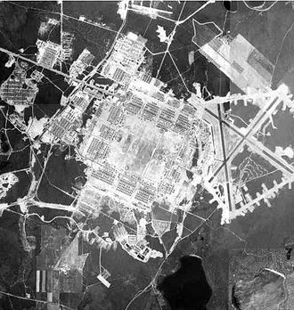 Otis Air National Guard Base - Photo of Naval Auxiliary Air Facility Otis, circa 1943