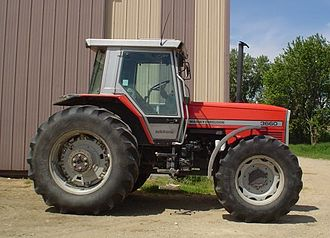 Massey Ferguson - A Massey Ferguson MF 3660 tractor from the early 1990s