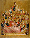 Master of the Cini Madonna - Dormition of the Virgin - Google Art Project.jpg