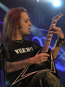 Alexi Laiho van Children of Bodom