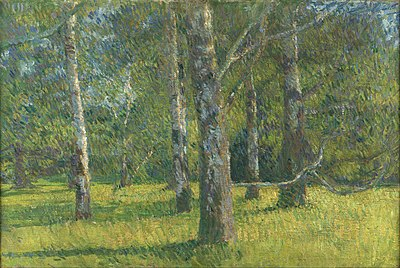 Slika:Matija Jama - Birches in Laxenburg.jpg