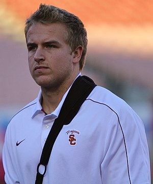 Matt Barkley - Barkley with USC in 2012
