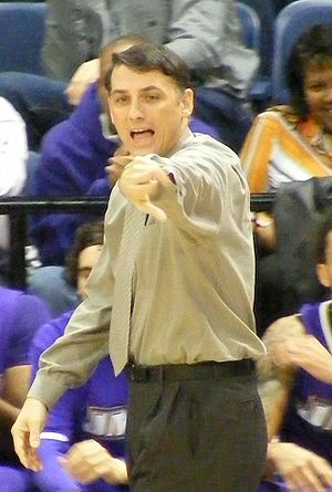 Matt Brady - Brady during a 2009 game at Old Dominion University
