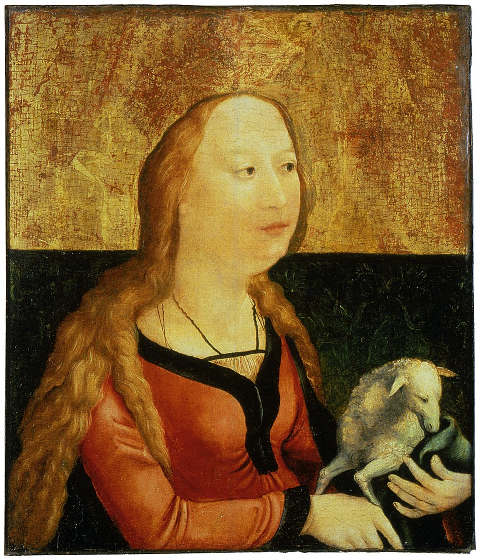Matthias Gruenewald-Coburger Tafel-Heilige Agnes