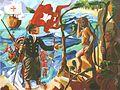 "Matthias Laurenz Gräff, ""Christoph Kolumbus landet auf San Salvador"".jpg"